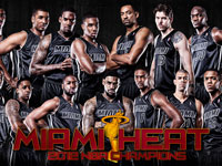 Miami Heat 2012 NBA Champions Roster Wallpaper