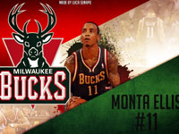 Monta Ellis Bucks 1440x960 Wallpaper