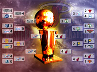 NBA Playoffs 2012 Wallpaper