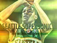 Seattle SuperSonics 2012 NBA Finals 1920x1200 Wallpaper