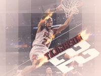 Taj Gibson Bulls Dunk 1920x1080 Wallpaper