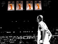 Tim Duncan Spurs Championship Banners 1920x1200 Wallpaper