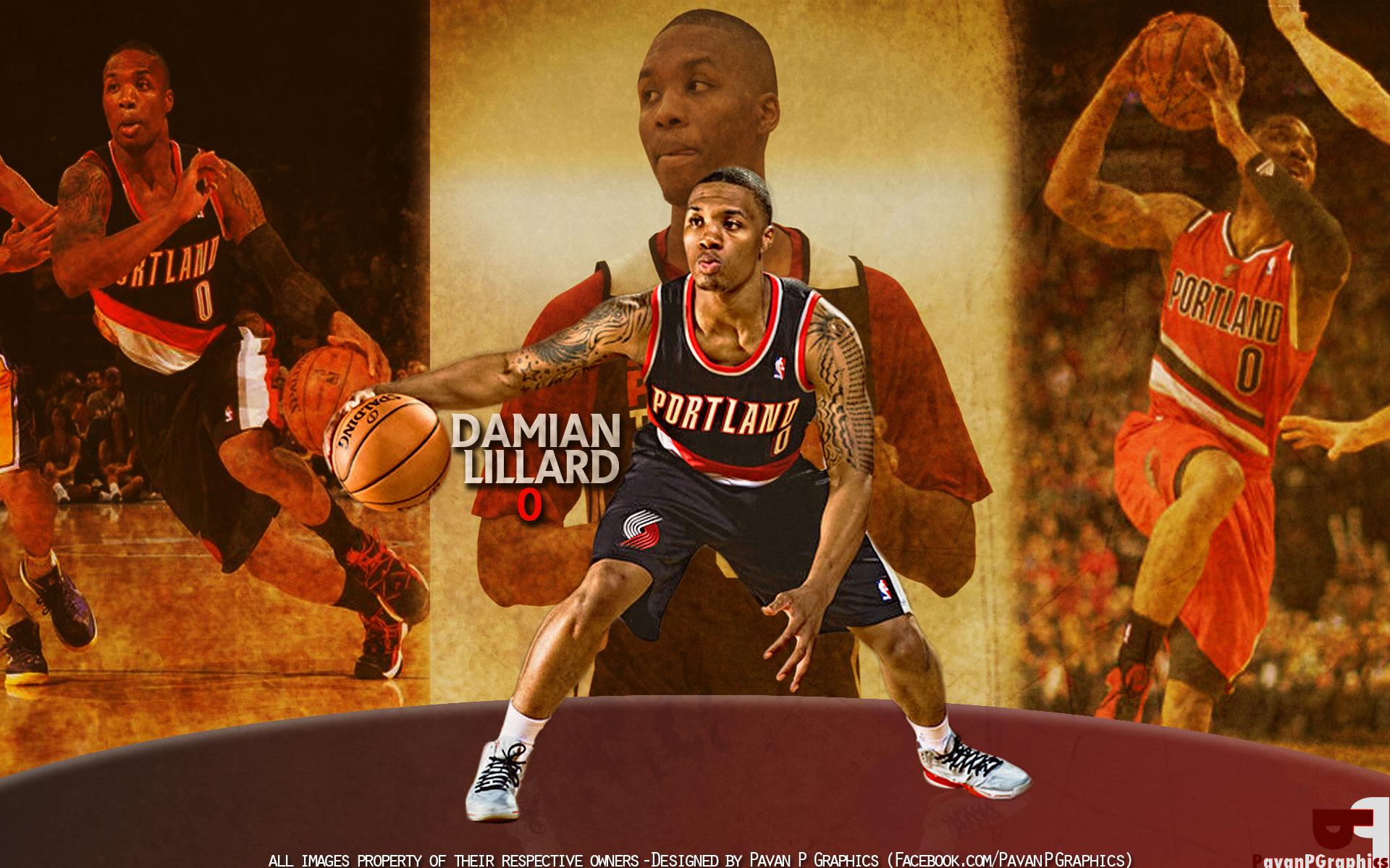 Damian Lillard Wallpapers | Basketball Wallpapers at ...