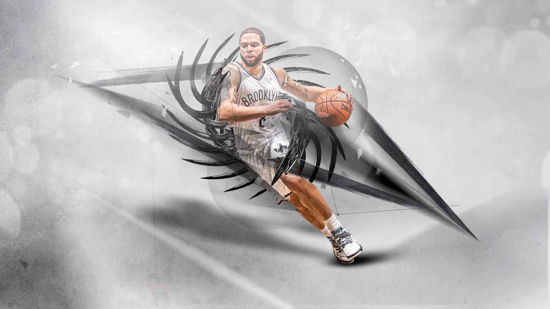 Deron Williams Brooklyn Nets 1920×1080 Wallpaper