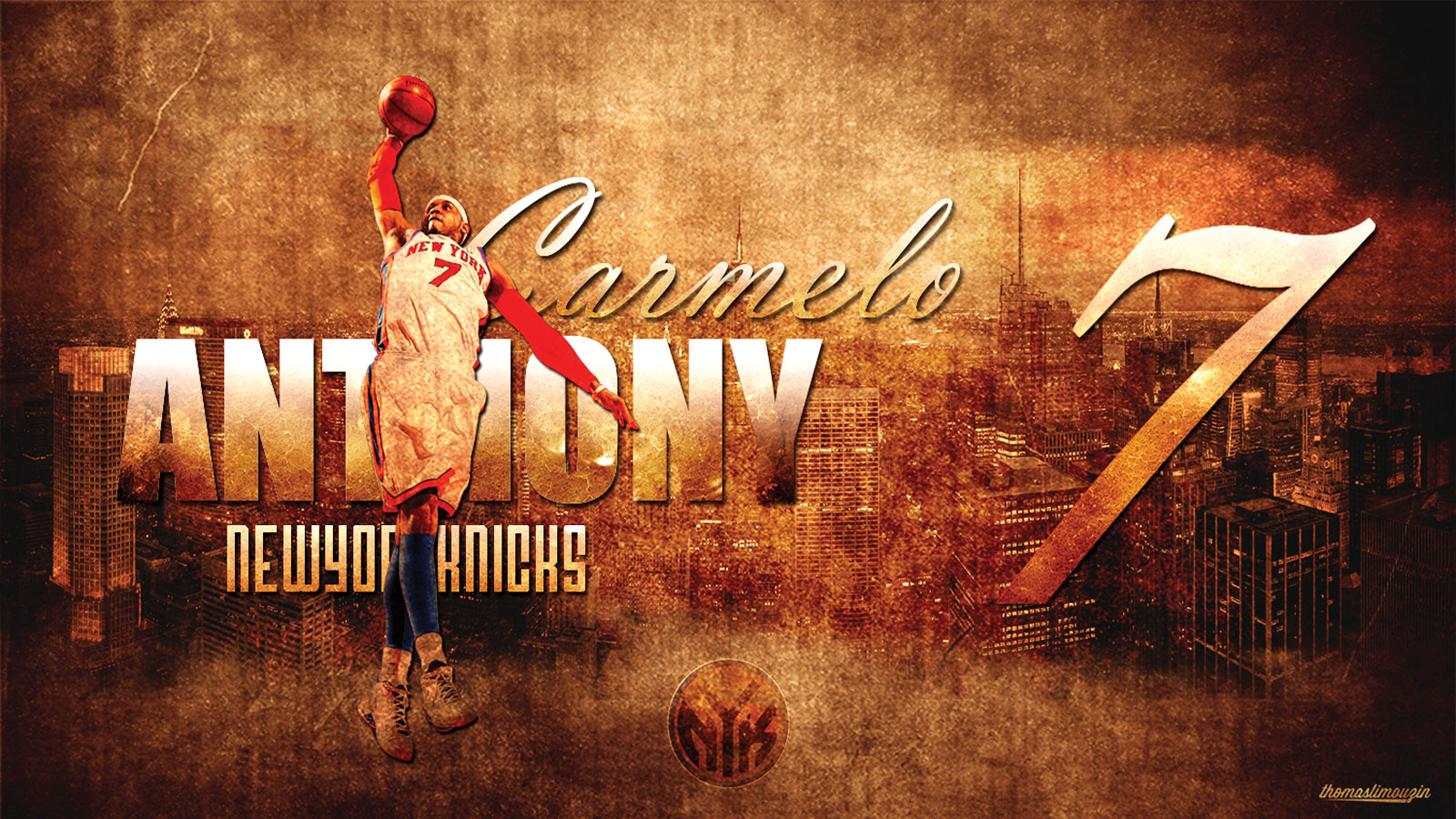 Melo Knicks 2013 1600900 Wallpaper Basketball Wallpapers at