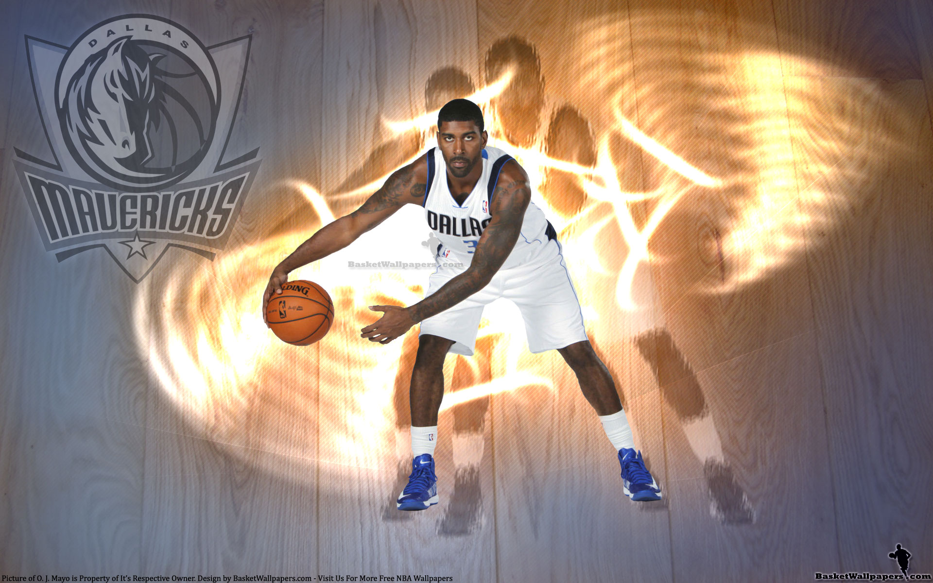 OJ Mayo Dallas Mavericks 2012 1920x1200 Wallpaper
