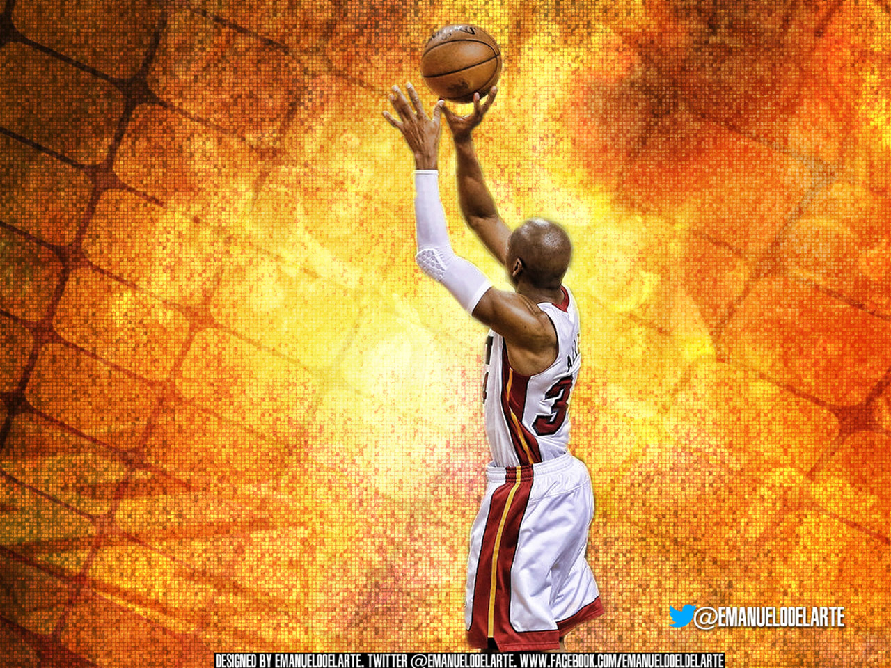 Ray Allen Wallpapers | Basketball Wallpapers at BasketWallpapers.com