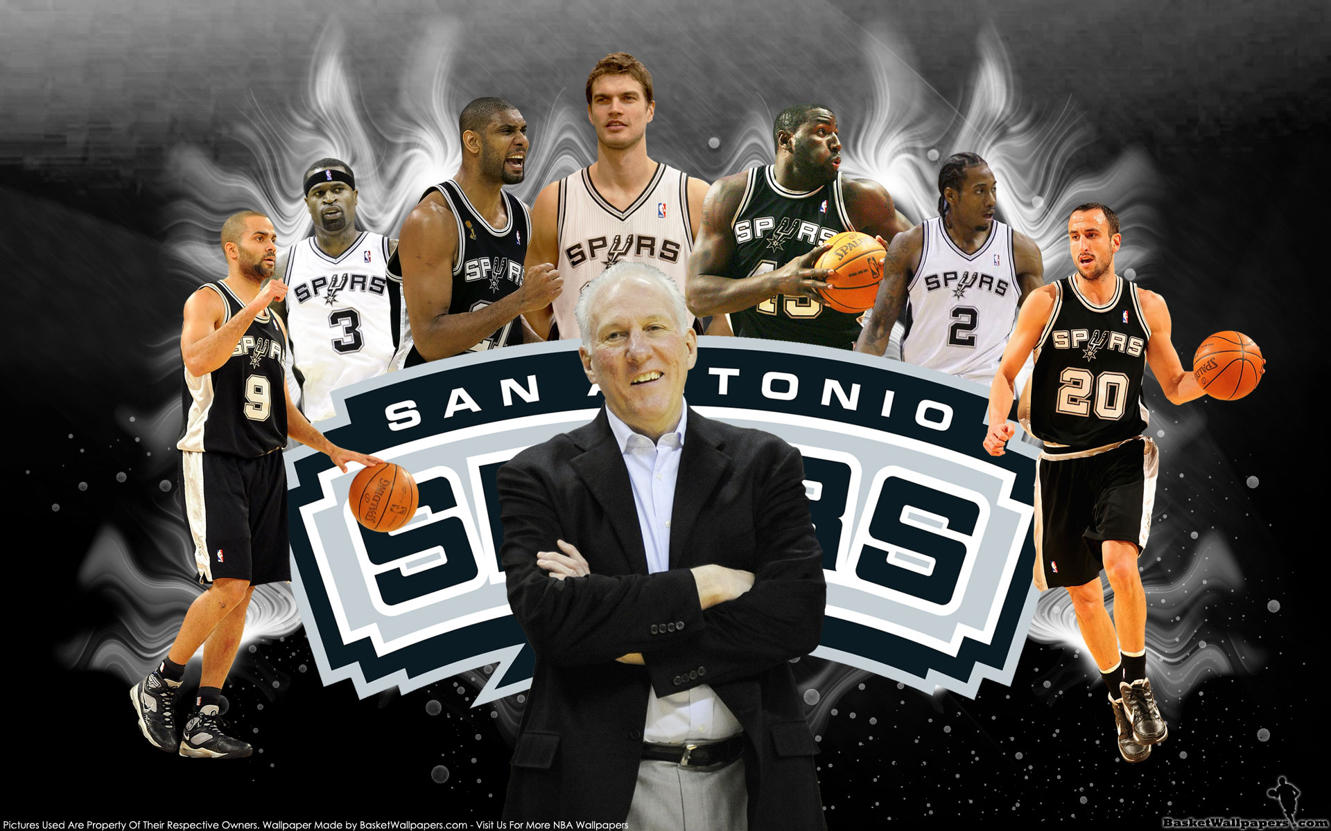 San Antonio Spurs 2013 1920x1200 Wallpaper