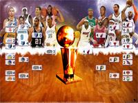 2013 NBA Playoffs 2560x1600 Wallpaper