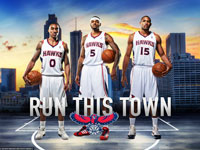 Atlanta Hawks 2013 Big 3 2560x1440 Wallpaper