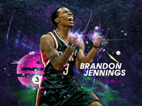 Brandon Jennings 2013 1920x1200 Wallpaper