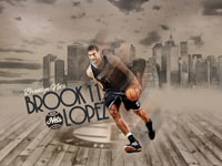 Brook Lopez Brooklyn Nets 1920x1200 Wallpaper
