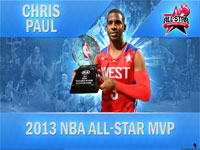 Chris Paul 2013 NBA All-Star MVP 2560x1600 Wallpaper