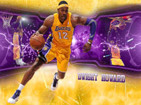 Dwight Howard Lakers 2560x1440 Wallpaper