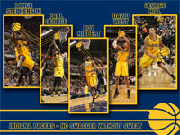 Indiana Pacers 2013 Starters 1600x1200 Wallpaper