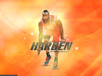 James Harden Rockets 2013 1680x1050 Wallpaper