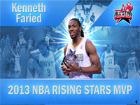 Kenneth Faried 2013 Rising Stars Challenge MVP 2560x1600 Wallpaper