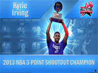 Kyrie Irving 2013 3 Points Shootout Champion 2560x1600 Wallpaper