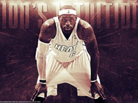 LeBron James 2013 NBA Playoffs 1680x1050 Wallpaper