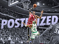 LeBron James Dunk Over Jason Terry 2560x1600 Wallpaper