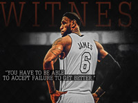LeBron James Failure Quote 1920x1080 Wallpaper