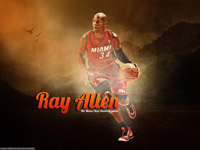 Ray Allen Miami Heat 1920x1200 Wallpaper