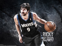 Ricky Rubio 2013 2560x1440 Wallpaper