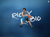 Ricky Rubio Timberwolves 1920x1200 Wallpaper