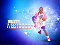 Russell Westbrook 2012-2013 1920x1200 Wallpaper