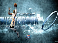 Russell Westbrook 2013 1600x900 Wallpaper