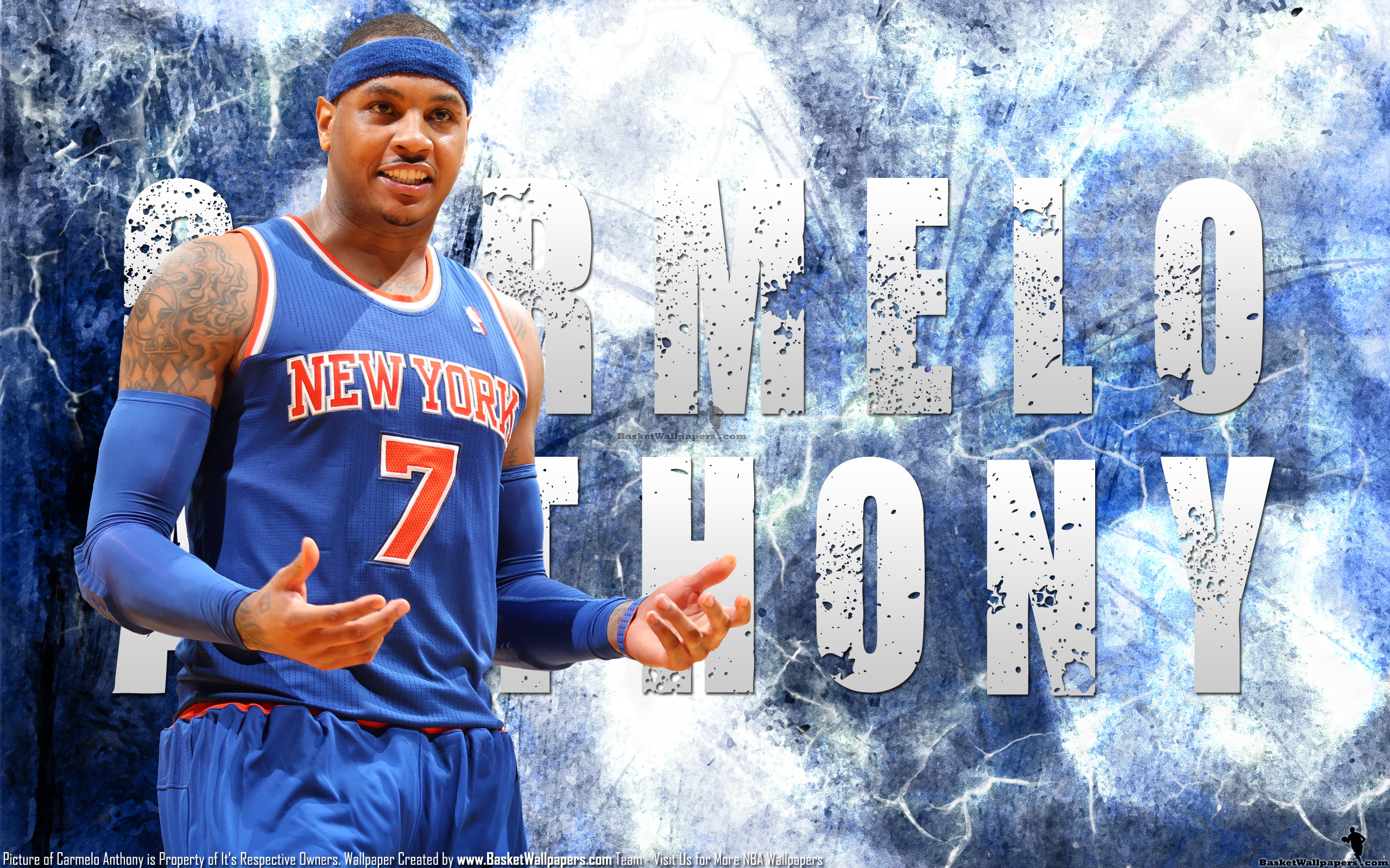 Carmelo anthony knicks 25601600 wallpaper basketball wallpapers carmelo anthony knicks 25601600 wallpaper voltagebd Images