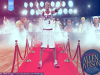 Allen Iverson Retirement 2013 2560x1440 Wallpaper