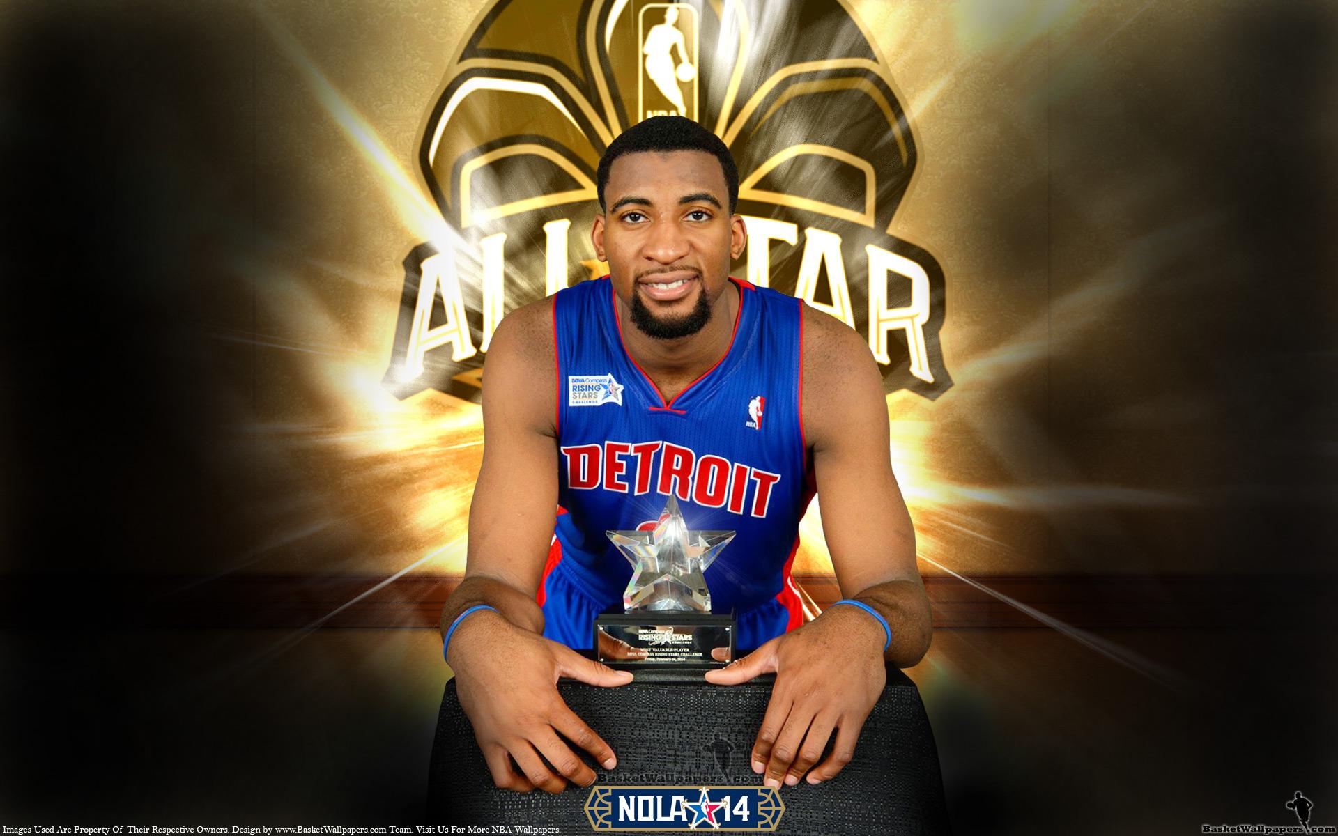 Andre Drummond 2014 NBA Rising Stars MVP Wallpaper | Basketball ... Jabari Parker Shooting