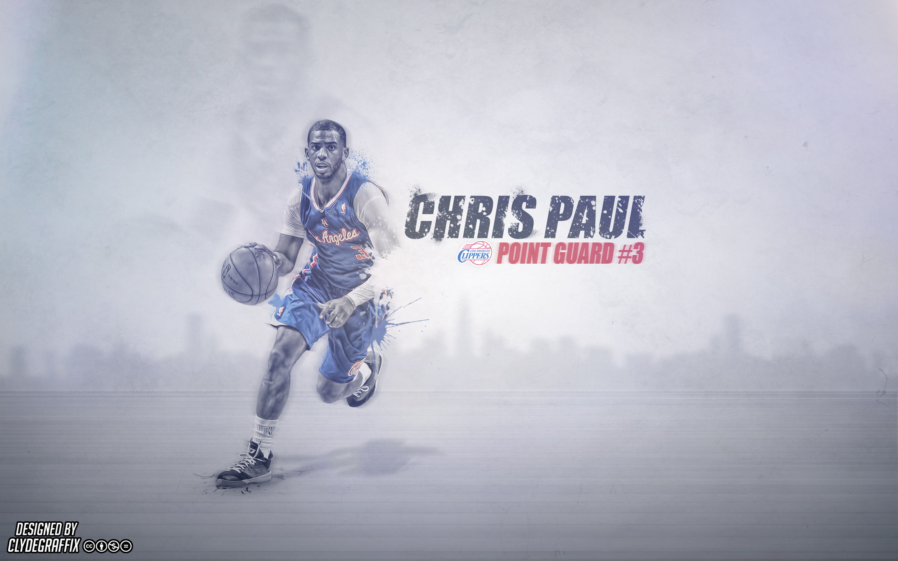 chris paul la clippers 2014 wallpaper basketball