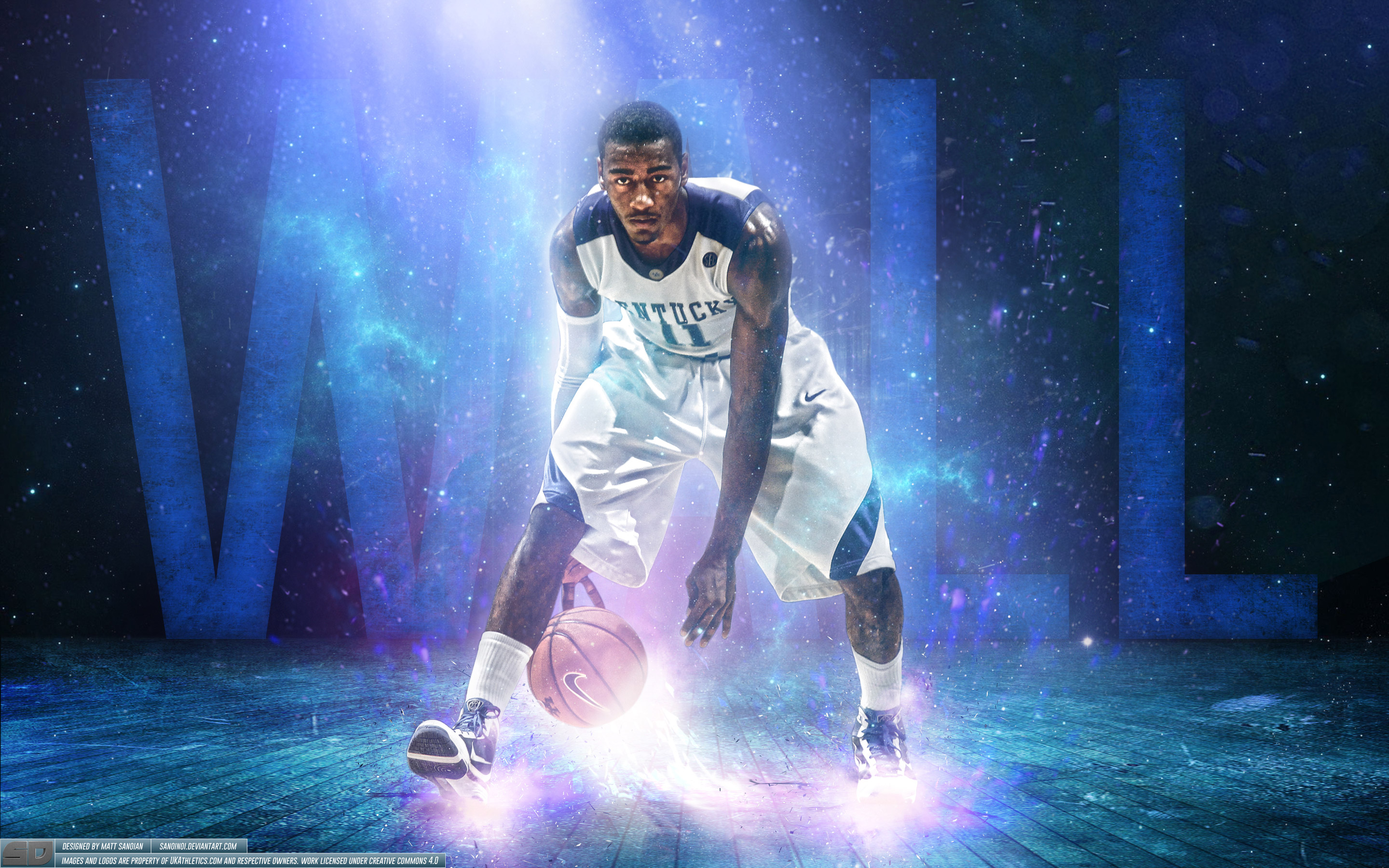 John Wall Kentucky Wildcats Wallpaper
