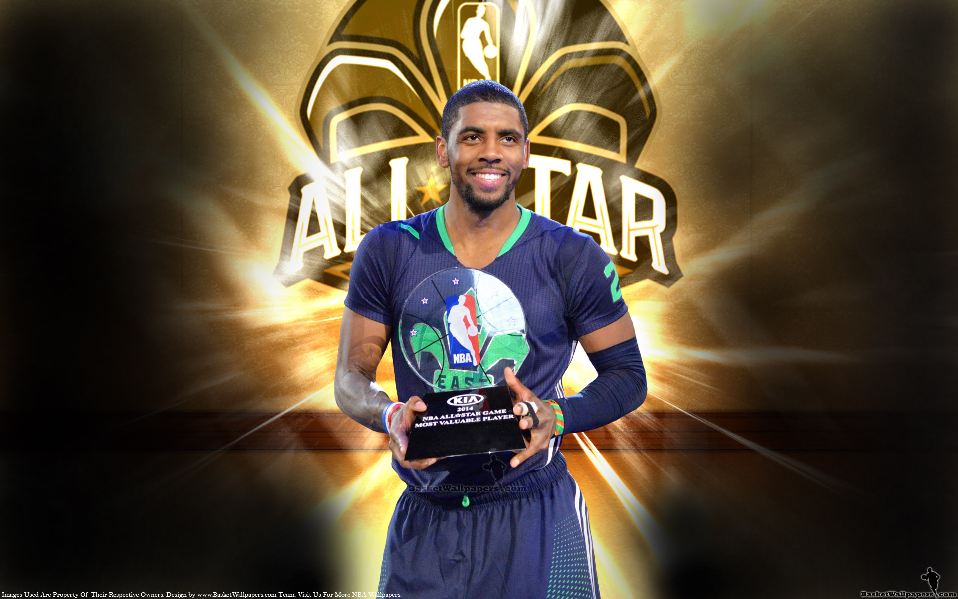 Kyrie Irving 2014 NBA All Star MVP Wallpaper
