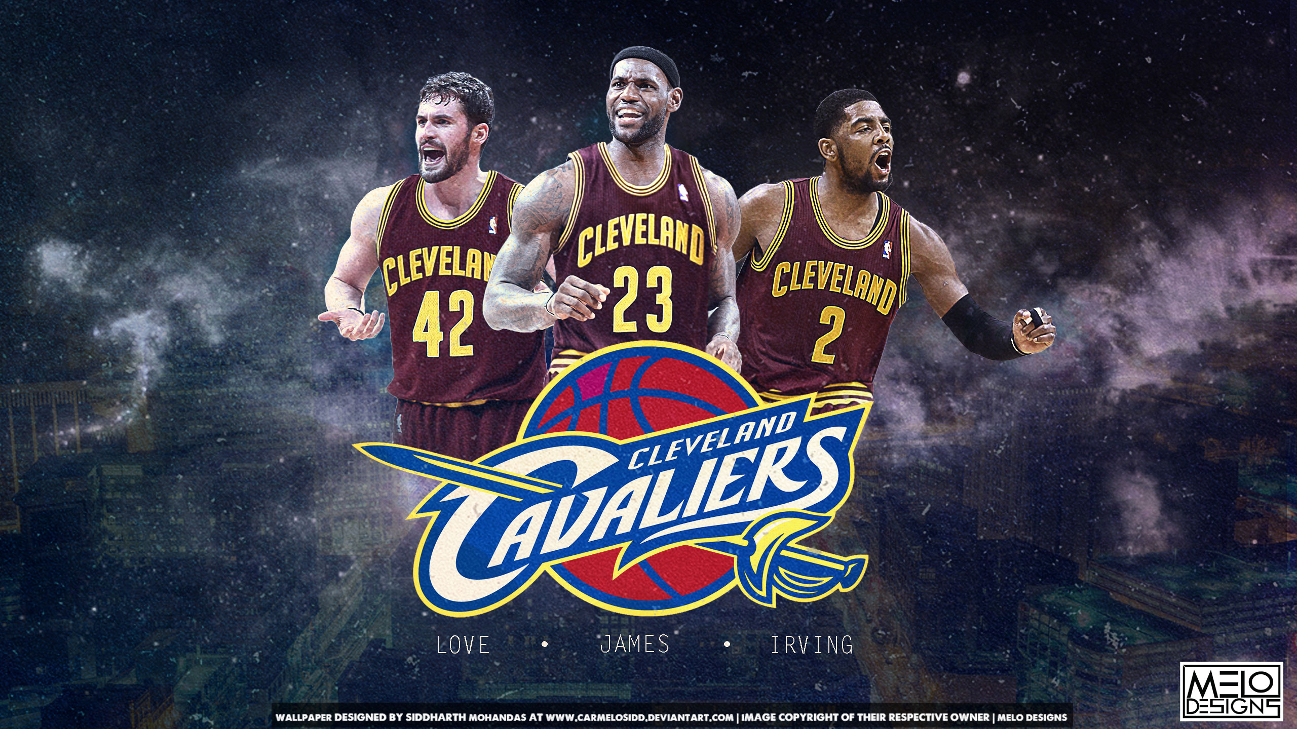 Love James Irving Cavaliers 2014 Wallpaper