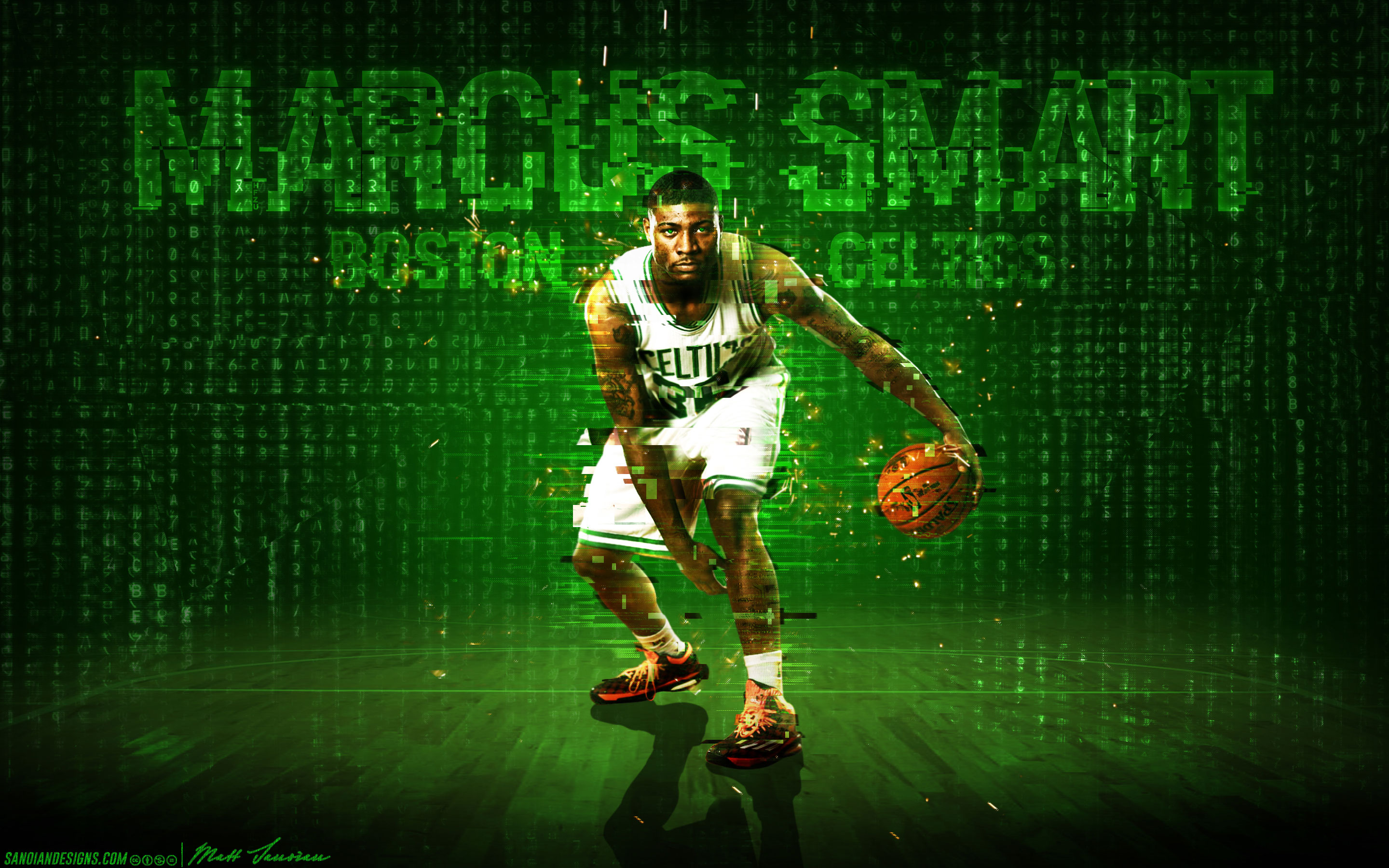 Marcus Smart Celtics 2014 Wallpaper