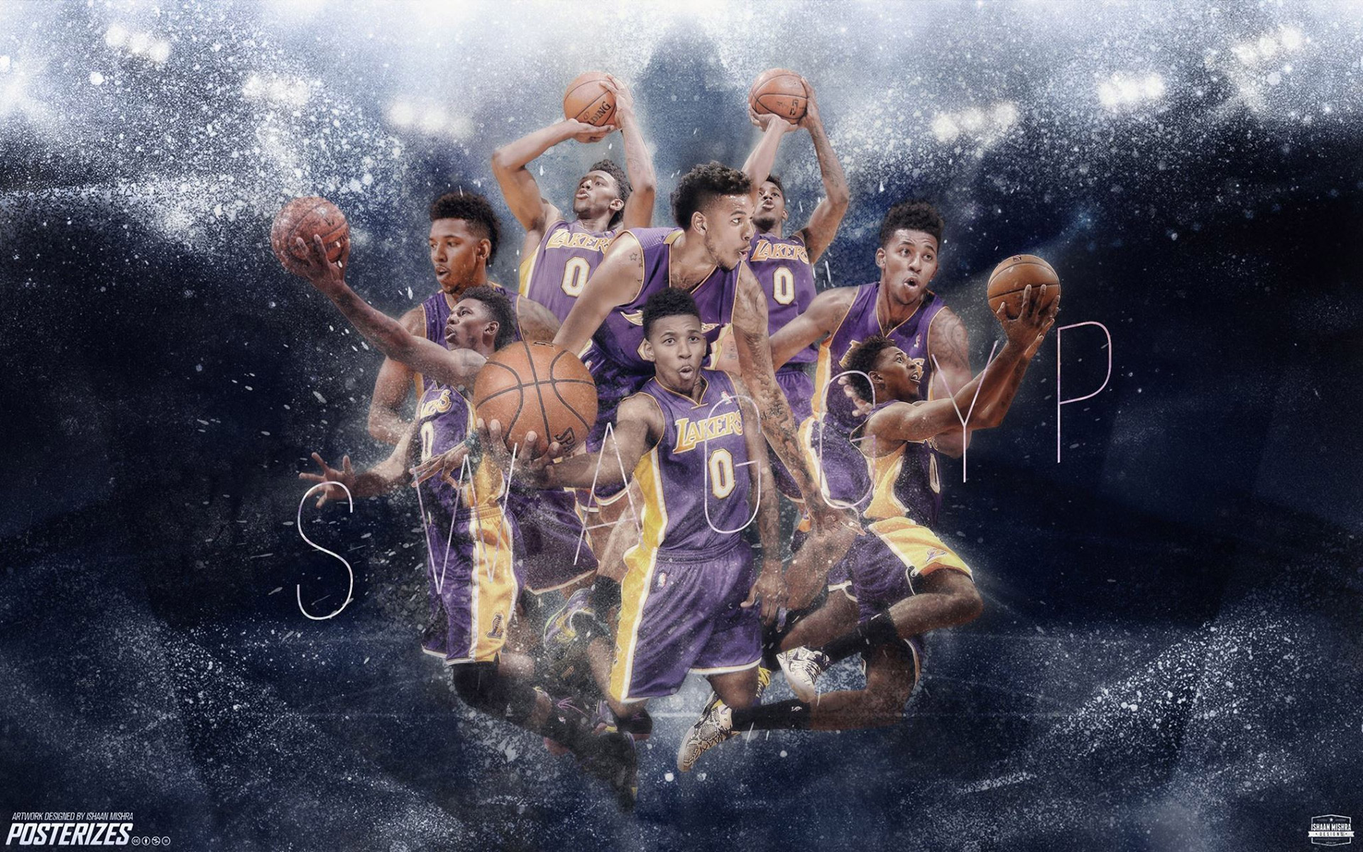 Nick Young La Lakers 2014 2015 Wallpaper Basketball Wallpapers At