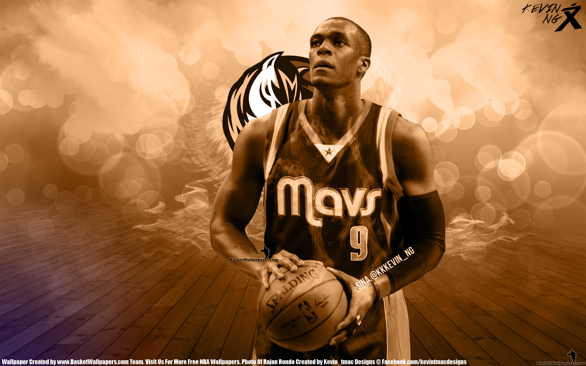 Rajon Rondo Dallas Mavericks Wallpaper