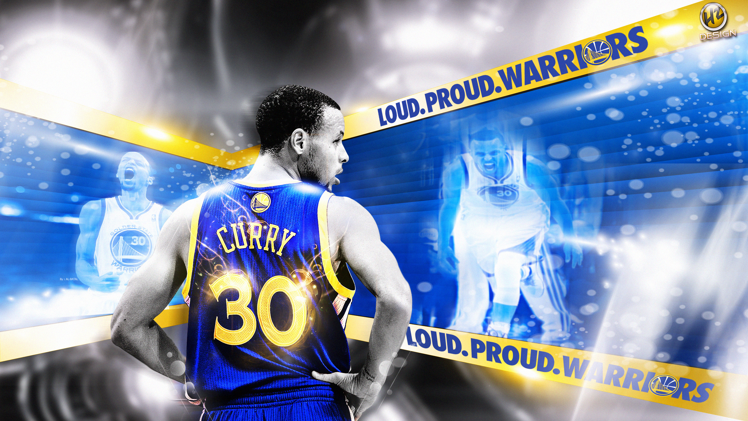 Stephen Curry 2014 Playoffs 2560×1440 Wallpaper ...