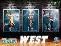2014 NBA All-Star Slam Dunk West 1920x1440 Wallpaper