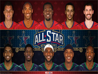 2014 NBA All-Star Starters 1920x1080 Wallpaper
