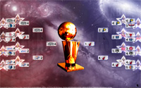 2014 NBA Playoffs Bracket Wallpaper