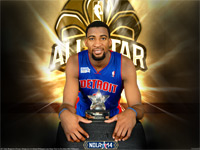 Andre Drummond 2014 NBA Rising Stars MVP Wallpaper