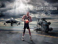 David Robinson Spurs 2880x1800 Wallpaper