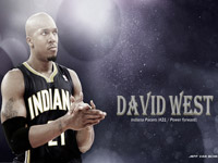 David West Pacers 2014 wallpaper