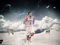 Deron Williams Nets 2014-2015 Wallpaper