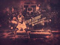Kevin Durant Thunder 2014 Wallpaper