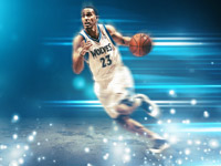 Kevin Martin Minnesota Timberwolves 2014 Wallpaper